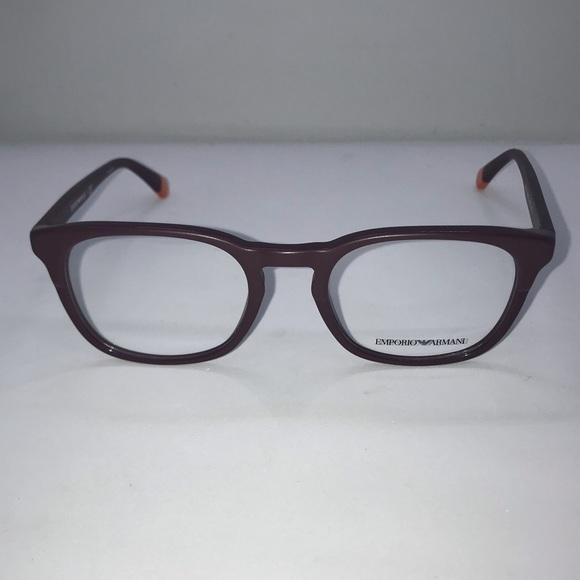 Emporio Armani Other - Emporio Armani 3118 Matte Bordeaux Eyeglasses